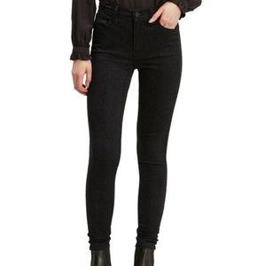 Levi's 720 High Rise Super Skinny Black Jean